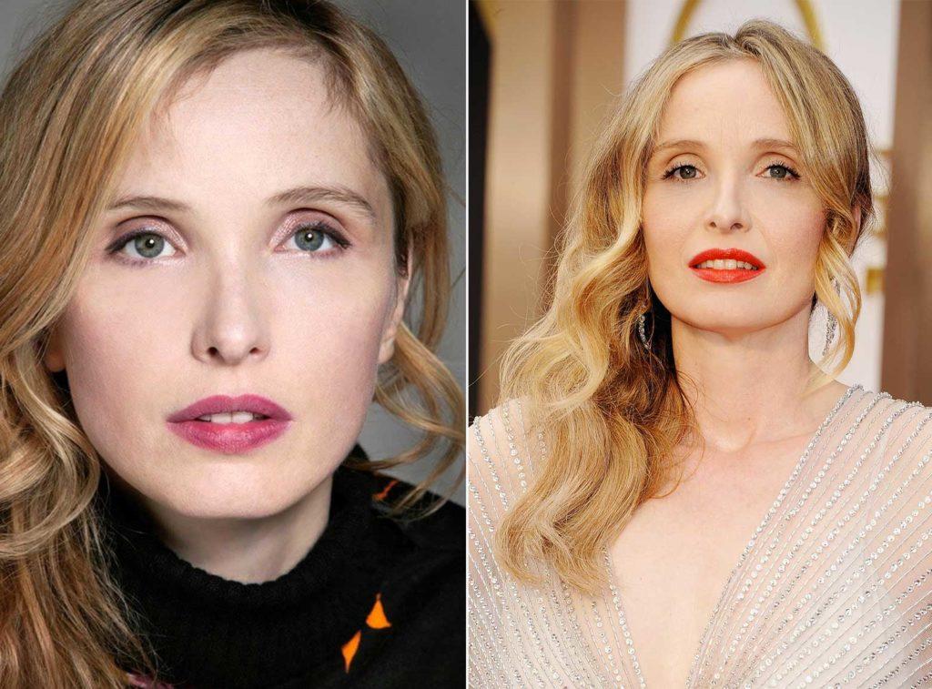 Maquillage Julie Delpy rouge à lèvres