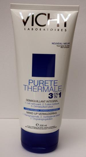 Pureté Thermale: Démaquillant Intégral 3 en 1 de Vichy