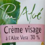 Crème Visage 30% de Pur Aloé