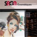 Les magasins Saga Cosmétiques