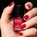 Les vernis rouges de Chanel