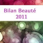 Bilan Beauté du blog en 2011
