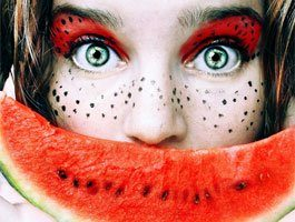 Maquillages artistiques Tutti Frutti