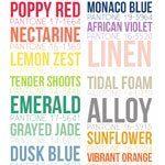 Les couleurs du Printemps 2013 selon Pantone
