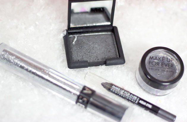Maquillage Argent pour le réveillon