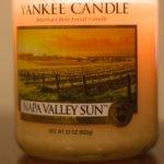 Napa Valley Sun réchauffe mon été