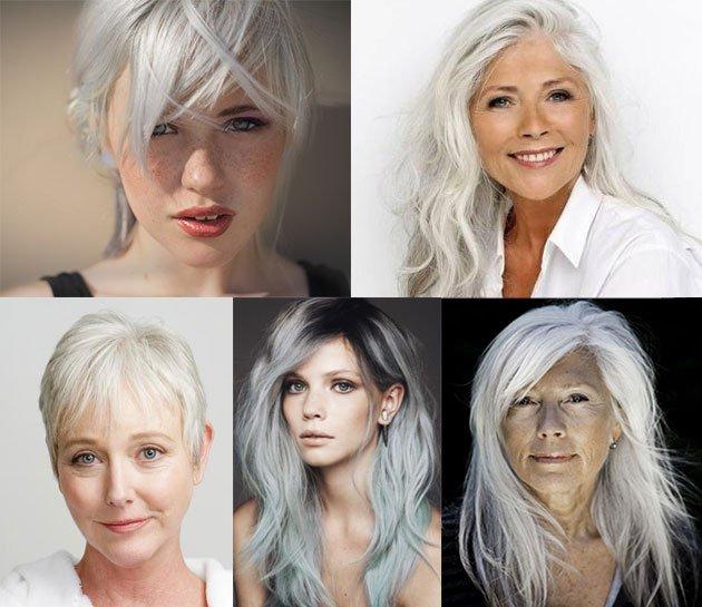 Faire une couleur blonde sur cheveux blancs