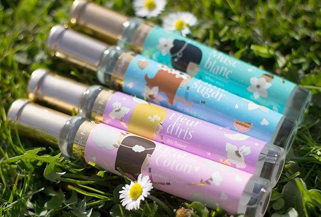 Parfums Adopt' Réserve Naturelle design by Natacha Birds