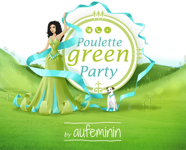 poulette-green-party