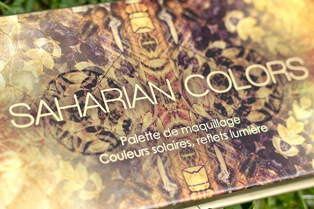 Palette Saharian Colors Réserve Naturelle