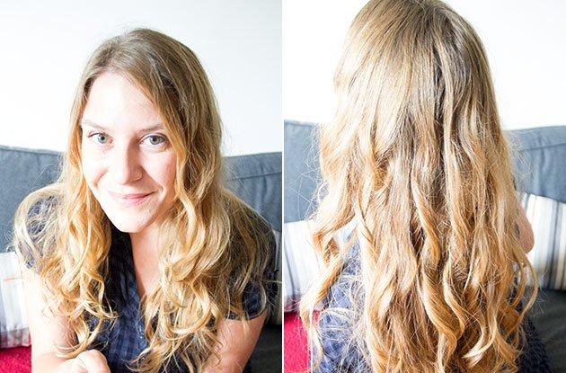 Curl Secret sur cheveux longs