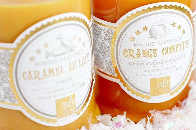 Bougies La française Noel Gourmand