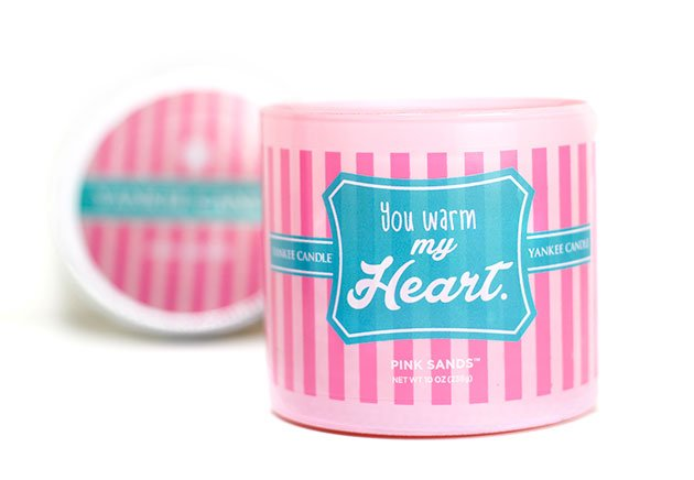 Bougie Yankee Candle Pink Sands