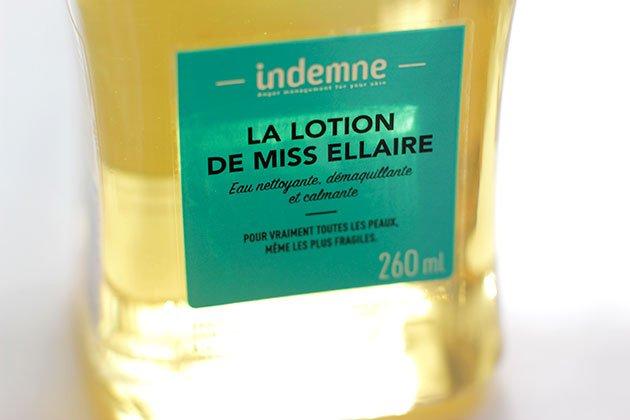 Lotion de Miss Ellaire - Indemne