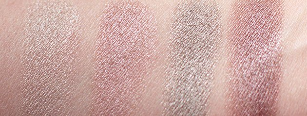 Swatch Ombres iridescentes Clarins