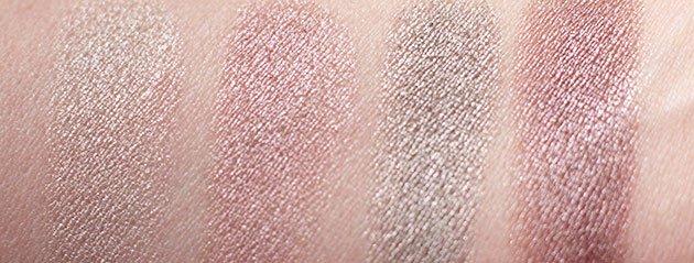Swatch Ombres iridescentes Clarins