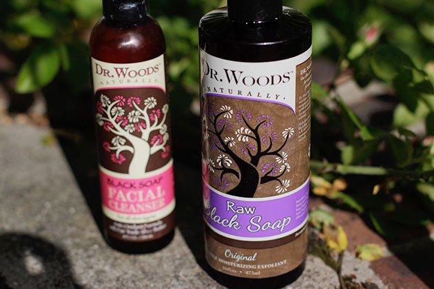 Dr. Woods Raw Black Soap