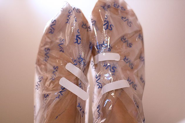 Peeling Pieds Xerial SVR chaussettes