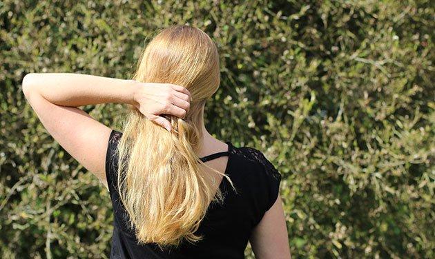 Cheveux Blond Vacances