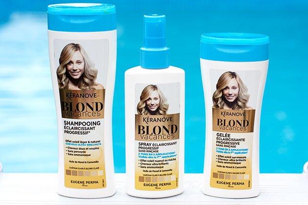 Gamme Blond Vacances Kéranove