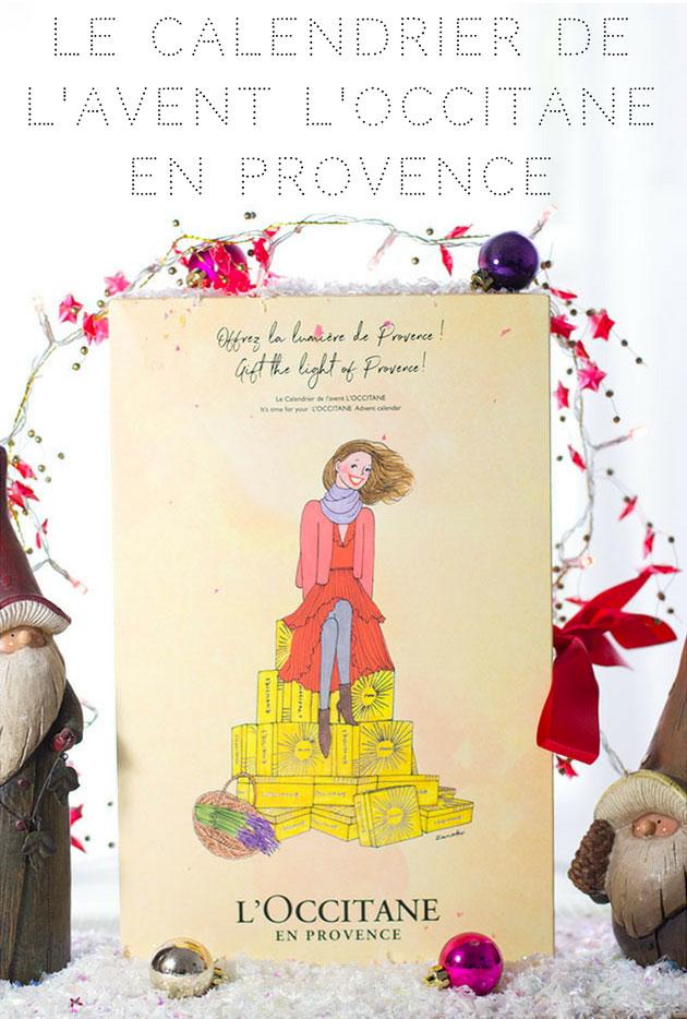 Calendrier de l'Avent L'Occitane en Provence