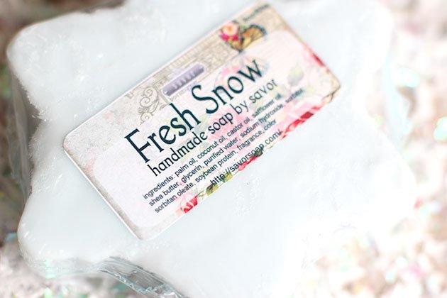 Savor Fresh Snow