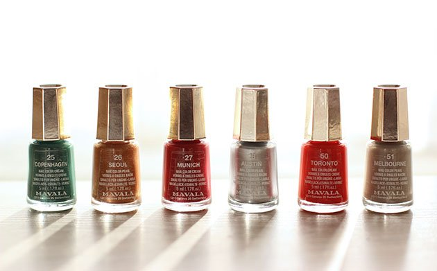 Mavala New look Colors Collection de vernis