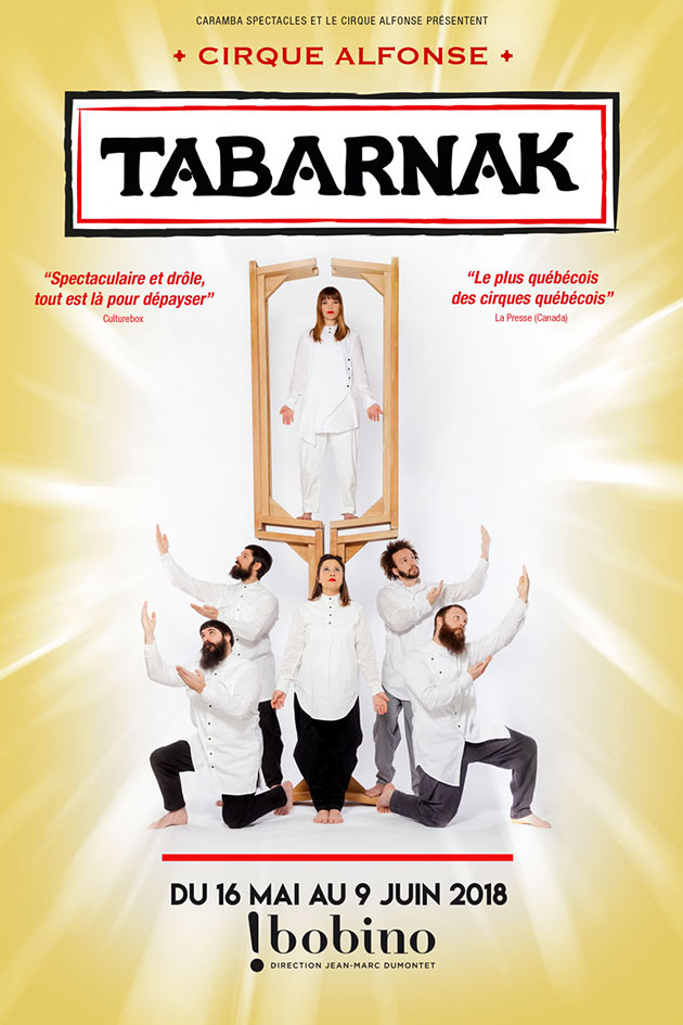 Cirque Alfonse affiche Tabarnak