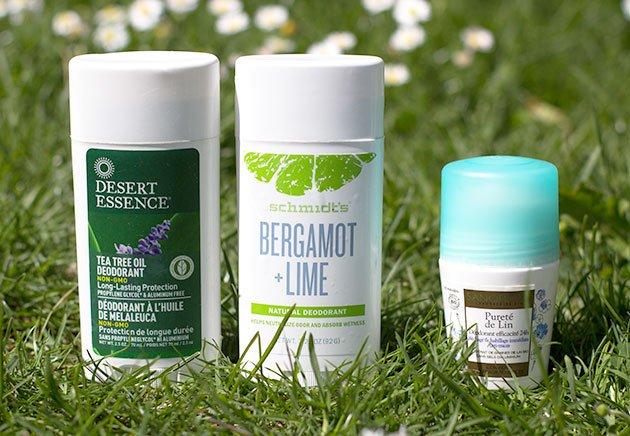 Déodorants Desert Essence, Schmidt et Sanoflore