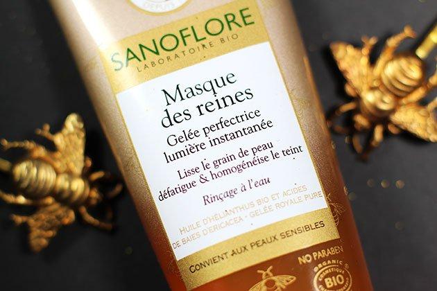 Sanoflore Masque des Reines produits de beauté