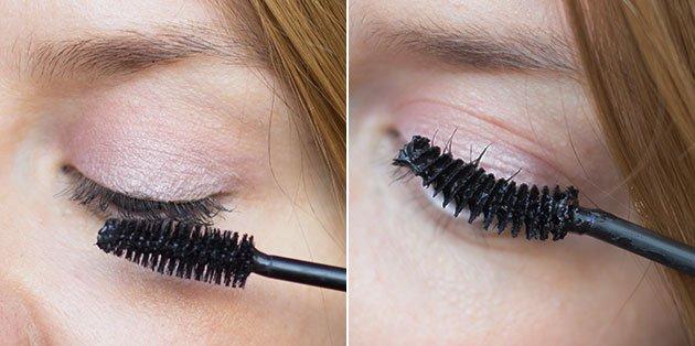 brosses mascaras bio lavera intense et curl