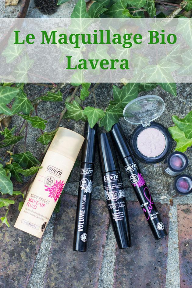 Produits de Maquillage Lavera