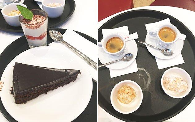 Desserts Vapiano DeathbyChocolate gâteau chocolat