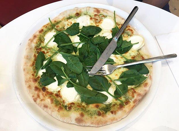 Pizza Capra Vapiano