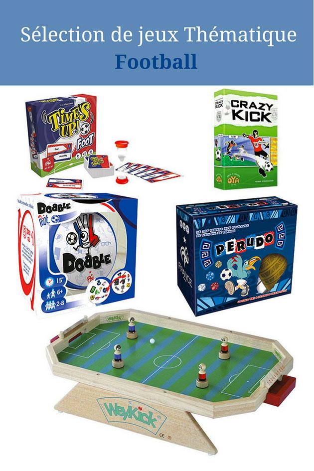 Sélection de Jeux thématique Football