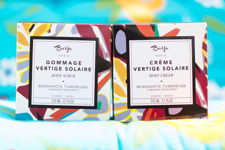 packaging Baïja Vertige Solaire
