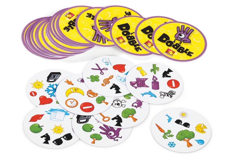 cartes du jeu Dobble jeu de société d'observation et de rapidité