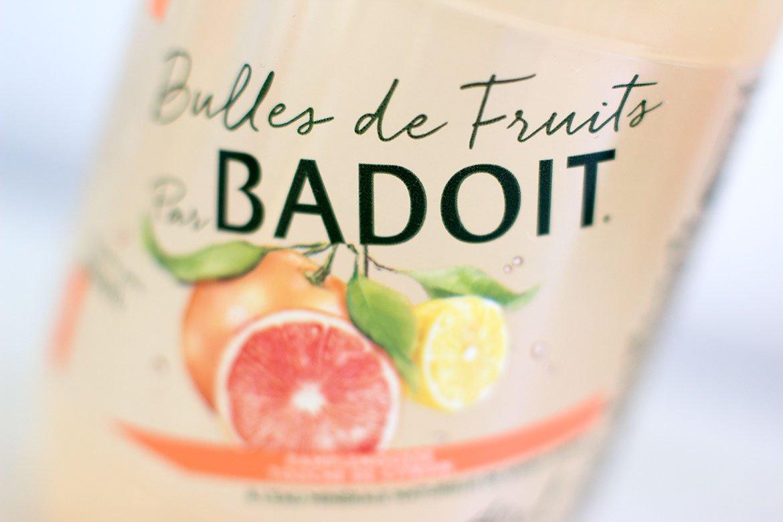 Bouteille de Badoit Bulles de Fruits