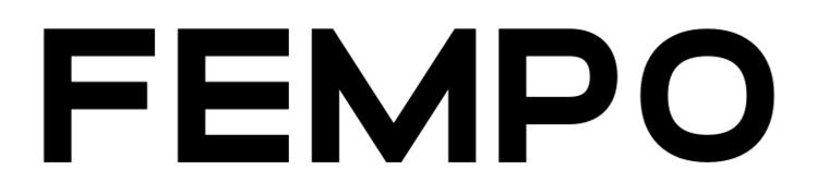 Logo FEMPO Noir et blanc