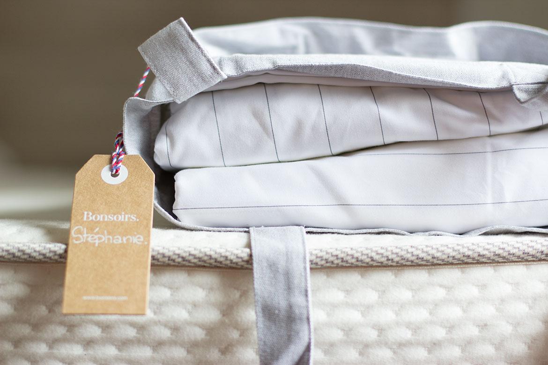 linge de lit haut de gamme bonsoirs test avis juste. Black Bedroom Furniture Sets. Home Design Ideas
