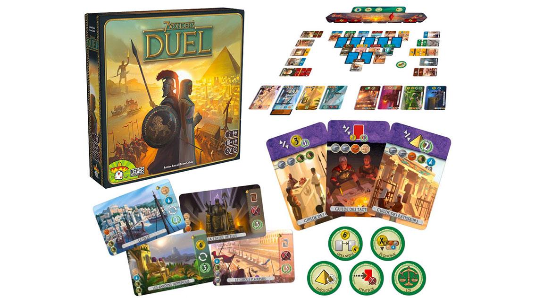7 Wonders Duel jeu de société pour 2 joueurs