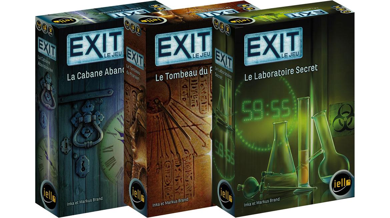 Exit jeu de société Escape Game
