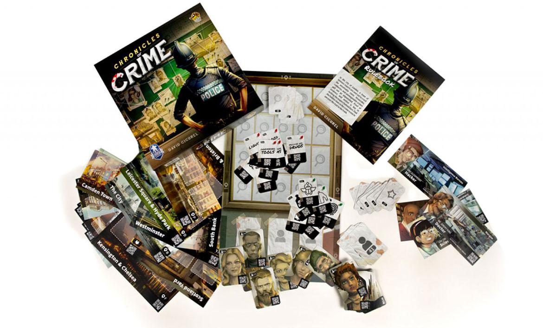 Chronicles of Crime jeu de société d'enquête