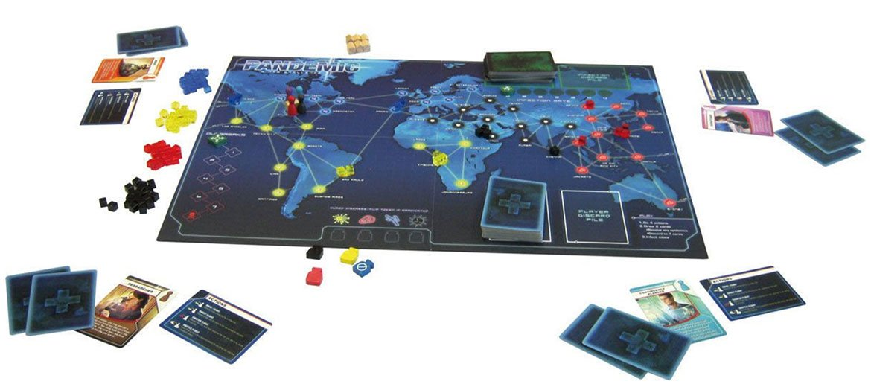 Pandémie  jeu de société coopératif