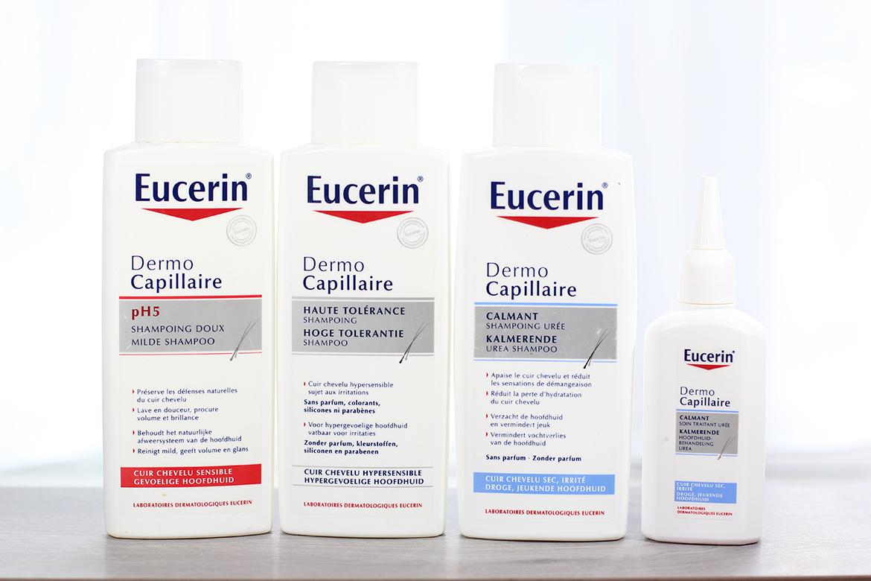 Gamme Dermo-capillaire anti-démangeaison cuir chevelu sensible Eucerin