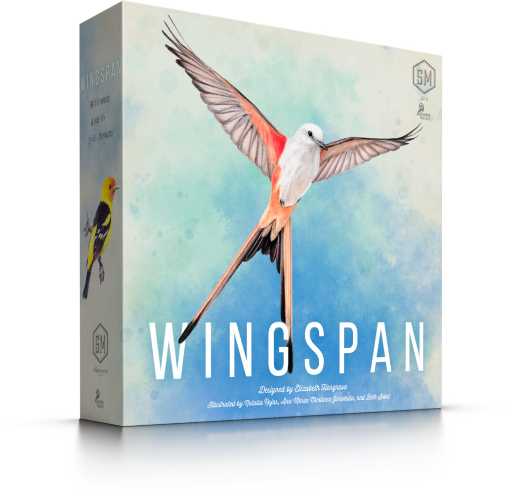 Wingspan jeu de société