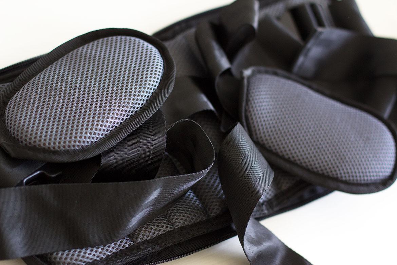 Produit Zen Back ouvert, ceinture lombaire pour soulager le mal de dos