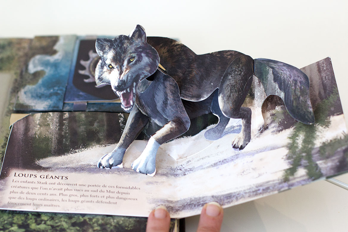 Pop Up Book Game of Thrones