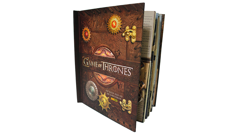 Pop Up Book Game of Thrones idée cadeau homme femme