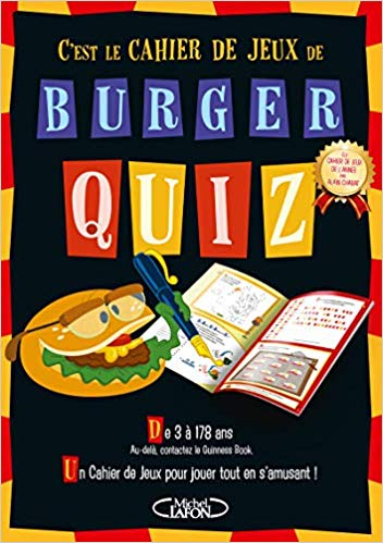 Burger Quiz Cachier de Vacances